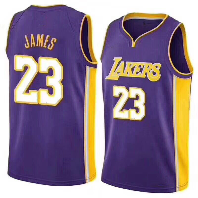 brand new c81dc 0c2c5 2018 New Lakers Lebron James #23 Basketball Jersey All Color