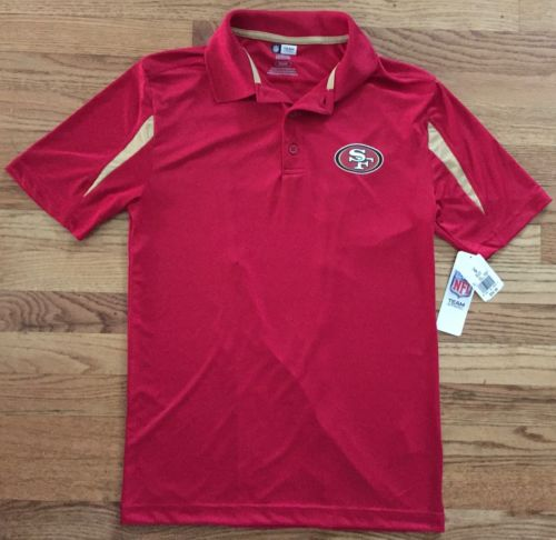 052132858 49ers Men s TX3 Polo Shirt Official NFL Gear Size Small Retails  35 Team  Apparel