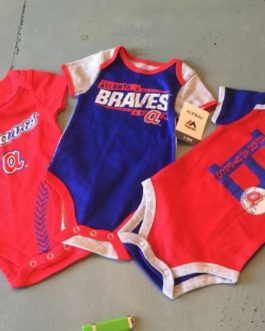 check out 5ed8b 5ee86 Atlanta Braves, Toddler Pajamas, Genuine Merchandise, MLB Fan Gear, ...